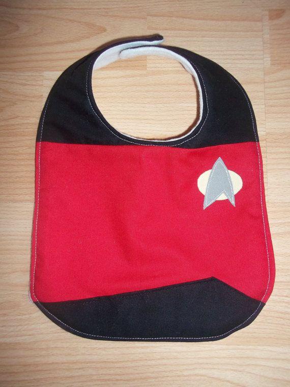 Lätzchen für Star Trek Babys