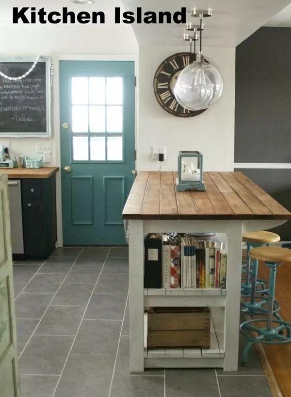 isla de madera cocina integral fabricamos a diseño cuarzo