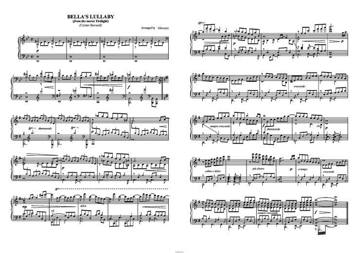ноты для фортепиано песни из сумерков: 16 тыс изображений найдено в Яндекс.Картинках