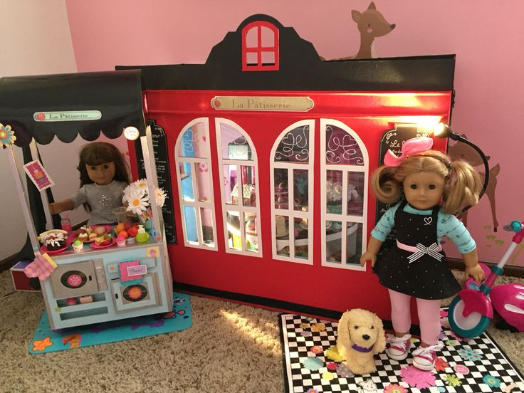 #AmericanGirl #GraceBakery #Doll #Crafts