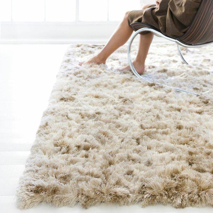 tapis shaggy design et déco de sol