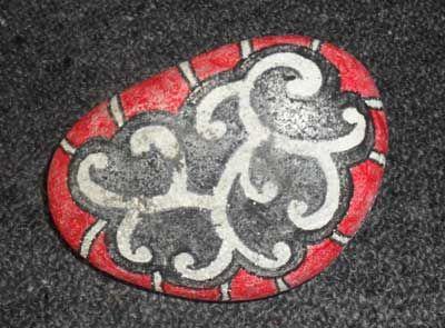 Maori Printables: Painted Stones