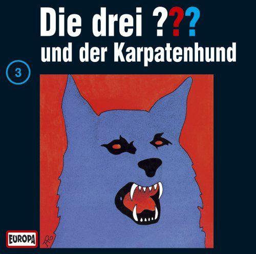 """Die drei Fragezeichen 3: Der Karpatenhund (German audio drama based on """"The Three Detectives"""")"""