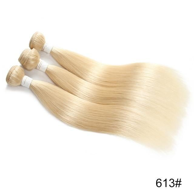 Blonde Brown Human Hair Bundles Euphoria Brazilian Natural Color Re…