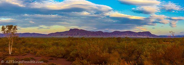 The Hammersley Range in the Pilbura