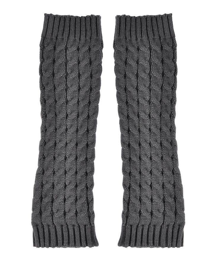 New Solid Leg Warmer Women Fashion Crochet Knit Winter Leggings Socks in Clothing, Shoes & Accessories, Women's Clothing, Hosiery & Socks | eBay