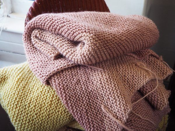 Natural dye from your garden  beautiful creative and easy