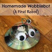 Homemade robotics projects for young kids. At the moment, these activities are for absolute beginners, but over time more complex robots will be added.