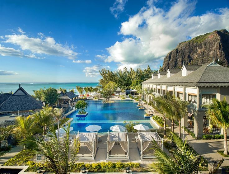 The St. Regis Mauritius Resort Set against a... | Luxury Accommodations