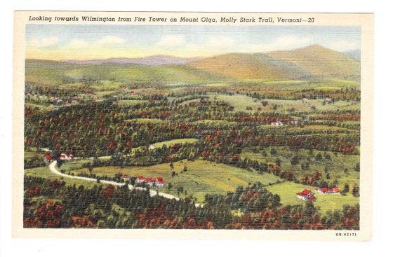 Wilmington Vermont Vintage Postcard unused by PicturesFromThePast