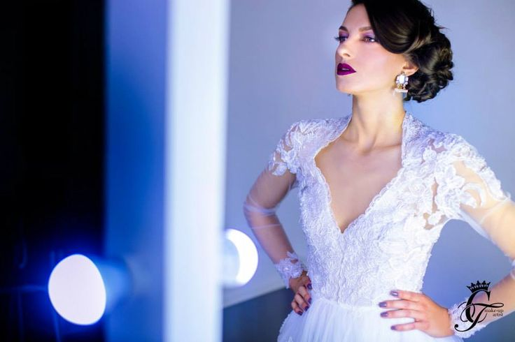 Glam Bride! Model: Oana Matei Make-up : Corina Tudor Photo: George Stan