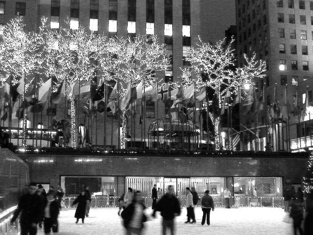 Ice Skate at Rockefeller Center.