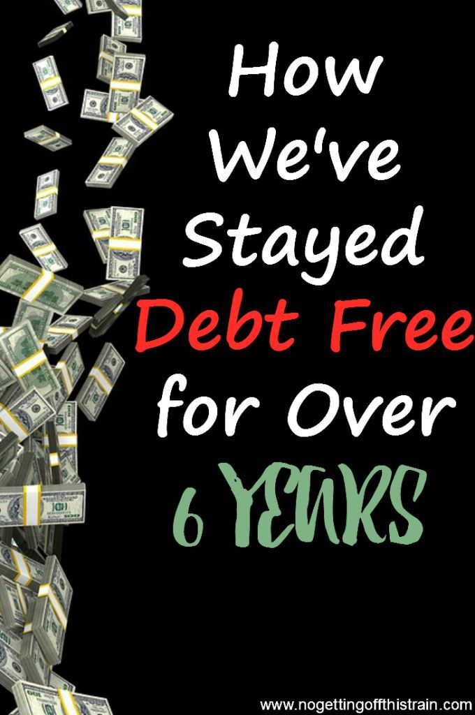 Taking control of your money is a powerful feeling. Here's how we've stayed debt-free for over 6 years and what we prioritize!