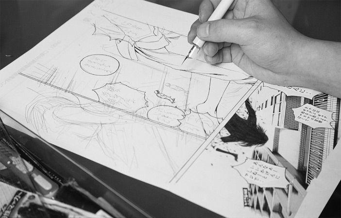 ik wouw altijd heel graag een striptekenaar willen worden, nu doe ik dat voor de lol