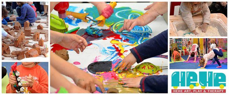 Θεραπευτικές ομάδες παιχνιδιού και τέχνης για παιδιά 5-10 ετών