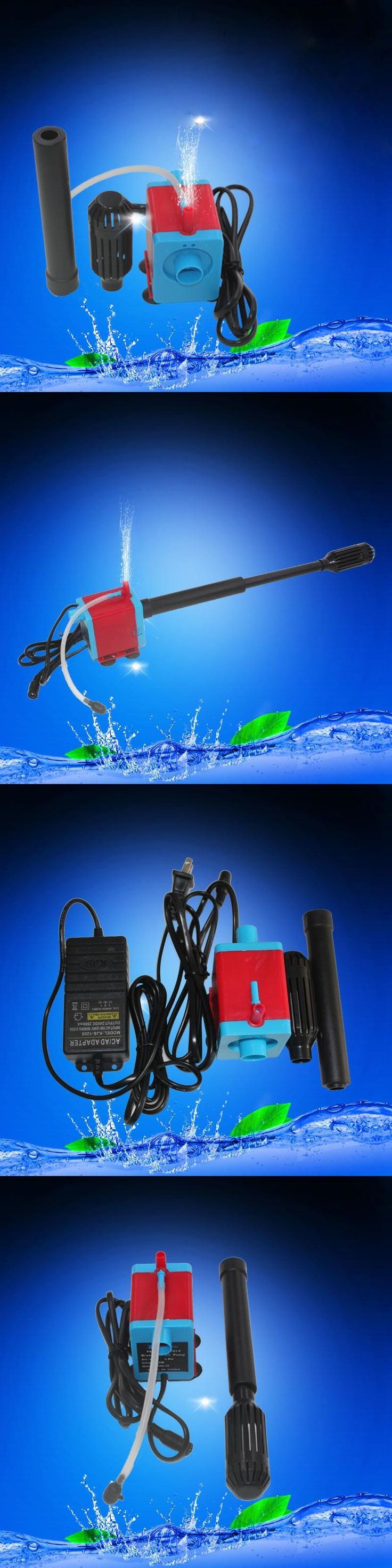 600L/H Submersible Fish Tank Power head Garden Fountain Aquarium Hydroponic Pond Pump