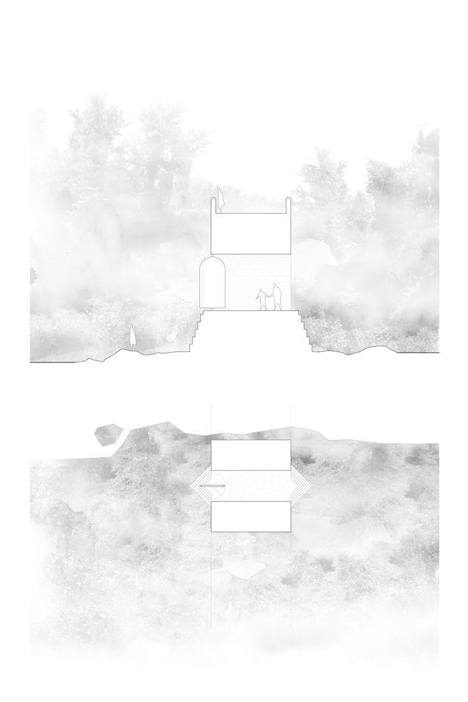 VAV Architects, mirror lab 2.1; Bridge de Sant Roc, Olot, Spain, 2011