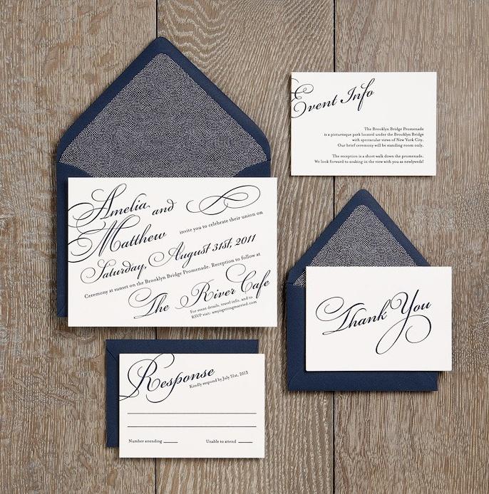 beautiful wedding invitations simple yet elegant from paper source - Paper Source Wedding Invitations