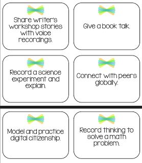 100 Ways to Seesaw - 1 Page