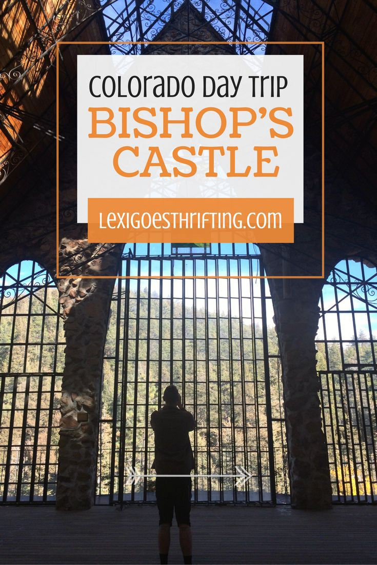 Looking for a day trip from Denver, Colorado? Bishop's Castle is a short mountain drive and a world away. Pay a visit to Colorado's very own castle