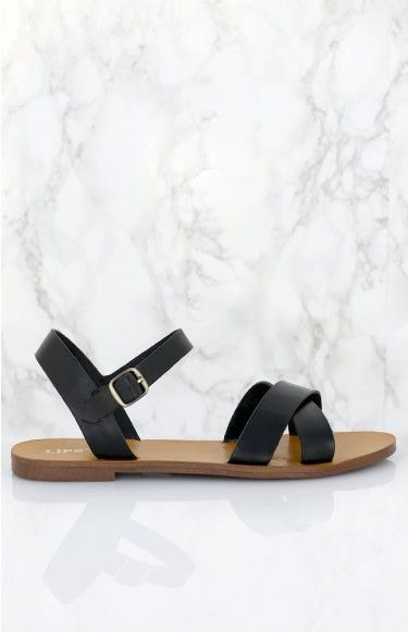 Lipstik Bamboo Sandals Black | Beginning Boutique | These are the ultimate summer sandals! We love the Lipstik Bamboo Sandals Black with a bright and floaty dress and floppy hat to keep it effortlessly chic!