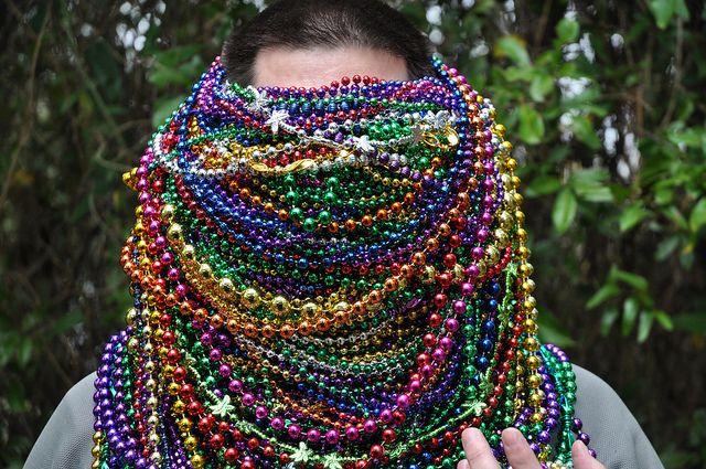 Shadow Barrons Mardi Gras Parade - Daphne, Alabama by fisherbray, via Flickr... http://jewelrystash.blogspot.com/