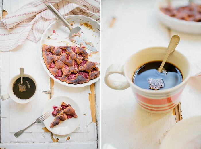 no soup for you: Bolo de morangos balsâmico
