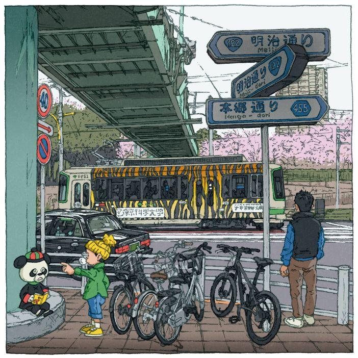Tokyo 100 views(86〜90) on Behance