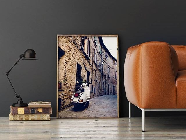 Scooter in an italian little street.  Code: P000029 Phone: +628118439998 (WA/SMS) Email: sales@canvasdeco.com Website: www.canvasdeco.com Price: IDR 499.000 . #canvasprinting #canvaspainting #cetakkanvas #cetakkanvas #cetakkanvasjakarta #cetakkanvasphoto #cetakkanvasmurah #lukisan #kanvasprint #canvascustom #hiasandinding #dekorasidinding #walldeco #spanram  #canvasframe#kanvas #canvasposter #printcanvas #walldecoration #vintageposter #canvaspaintings #posterkanvas #printkanvasmurah…