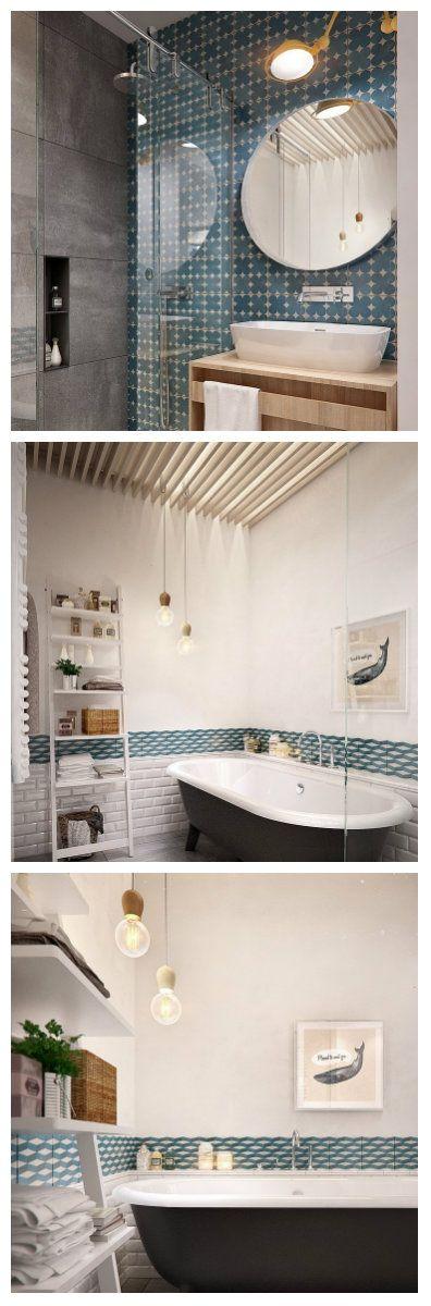 Студия дизайна Int2architecture создала интересную ванную комнату. Максимальная простота в ванной успешно переплетается с современной мебелью, старинным стилем оформления стен и деталями интерьера середины прошлого столетия. #освещение #лампы #светильники #светодизайн #ванна #освещениеванны #дизайнванны #светодиодныелампы #светодиодныесветильники #светодиодноеосвещение #простотавванной #освещениепомещений #ванная