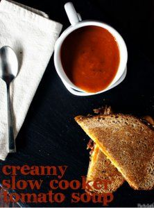 Creamy Slow Cooker Tomato Soup is one of those easy slow cooker soup recipes that's worth the effort of making a soup from scratch because i...
