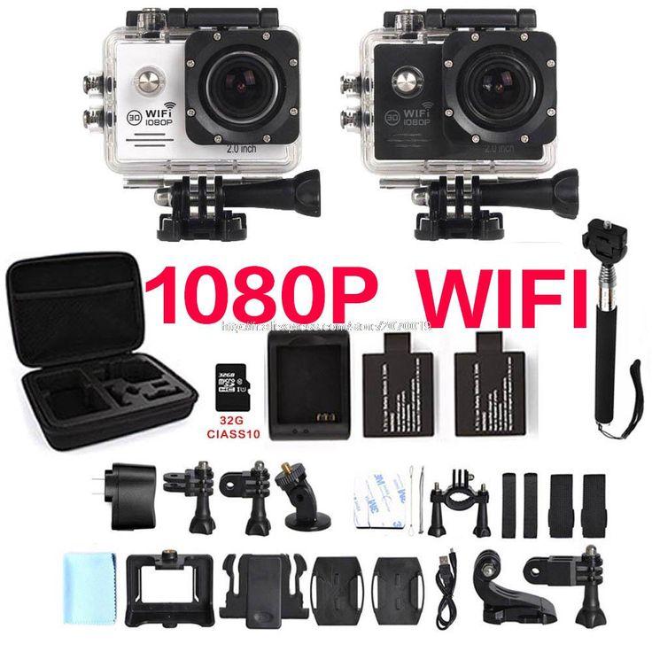WIFI 1080P camera SJ 16 cam 4000 plus 5000 30FPS Full HD h9 xiao go mi yi pro Waterproof Action camcord kamera Sport camera