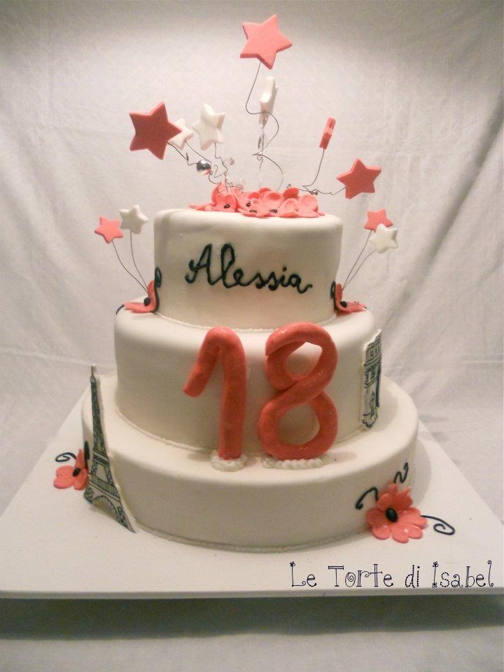18 ° Compleanno stile Parigi