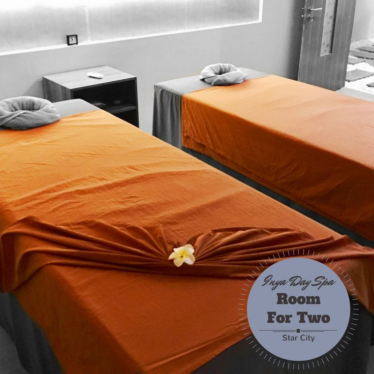 Room for Two.  #inyadayspa #starcity #doubleroom #sparoom #spadecor #spaday #instaspa #thanlyin #workhardplayhard