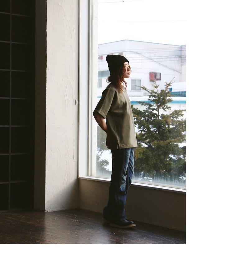 【楽天市場】【全国一律送料324円】 Audience [オーディエンス] 半袖 Tシャツ バスクシャツ バスク クルーネック 胸ポケット ビッグシルエット 綿100% 度詰天竺 日本製 メンズ レディース 女性用 トップス カジュアル 重ね着 着回し:PATY