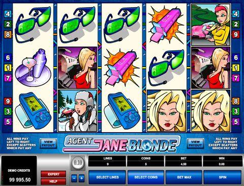 Игровой автомат Agent Jane Blonde в казино Вулкан Интересный слот Agent Jane Blonde от разработчика Microgaming не оставит равнодушным ни одного игрока казино Вулкан. Ведь в сюжете присутствует настоящий шпион, имя которому Джейн Блонд. Агент является американским ответом всемирн�