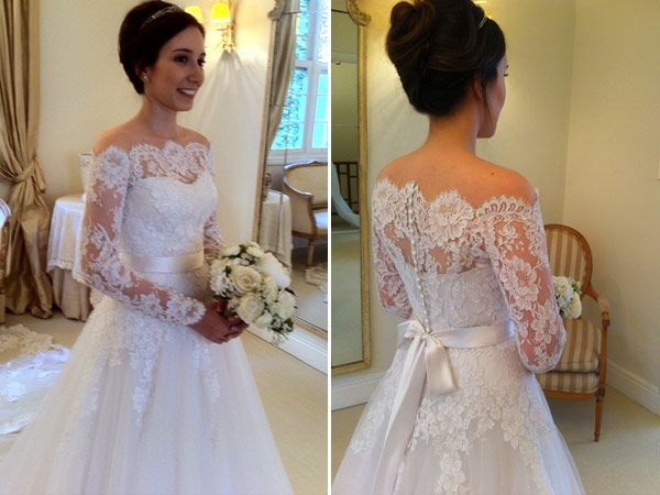 vestido de noiva de renda com manga - Pesquisa Google