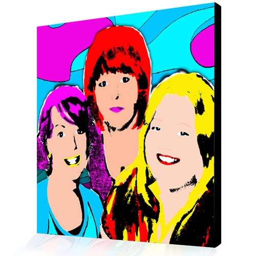 pop art from photograph warhol style