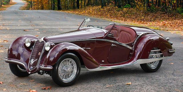 The ex-Invoice Jacobs and ex-Gene Ponder,1939 Alfa Romeo 6C 2300B Quick-Chassis Spi…