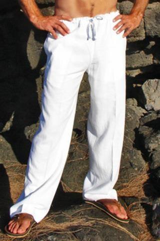 Мужские льняные брюки купить