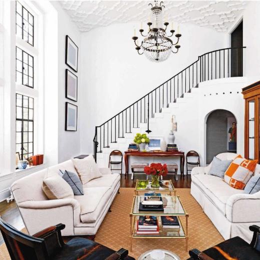 Great Living Room Love The High Ceilings Pinterest