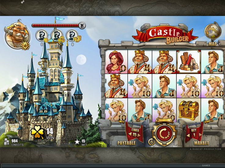 Castle Builder Online Slot game - play now at www.europalace-casino.com