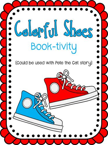 Super cute FREE Pete the Cat Printable Game from Prekinders