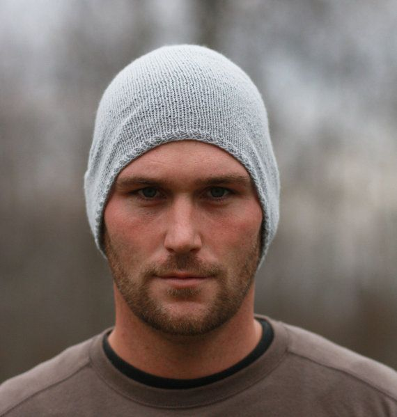 Mens Slouch Hat  CUSTOM ORDER by AWalkInTheWoodsKnits on Etsy, $34.99