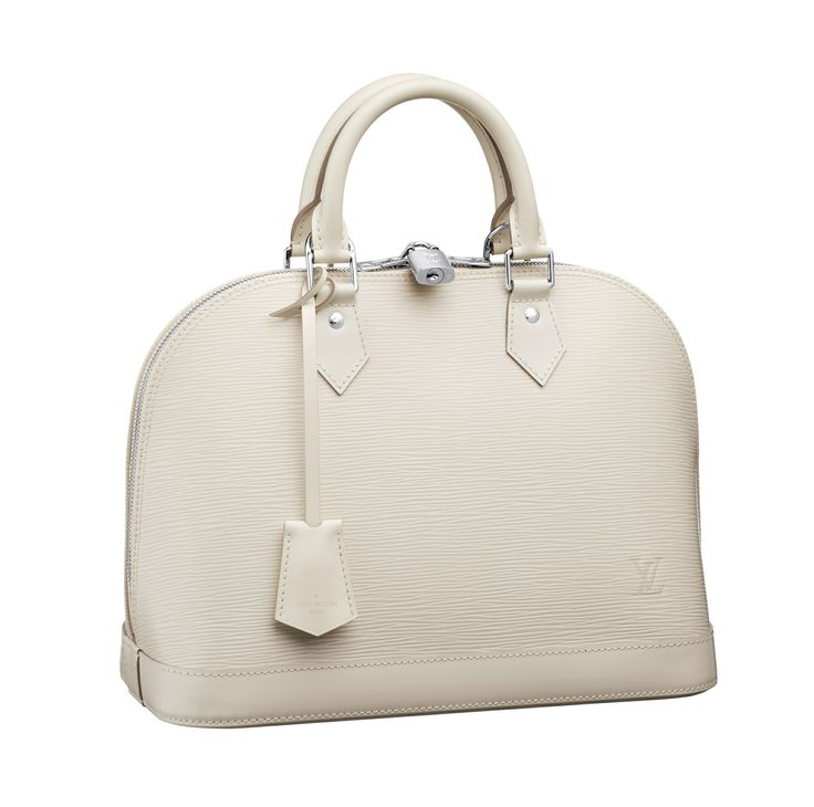 Kim Hersov gives expert advice on how to mix and match Louis Vuitton looks for a sunset cocktail party with this Alma bag in Epi leather.
