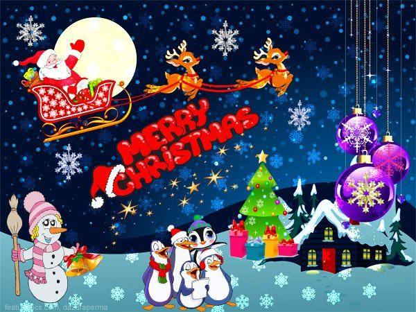 Postales Animadas de Navidad