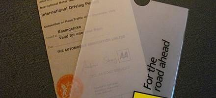 international driving permit- valid for 12 months