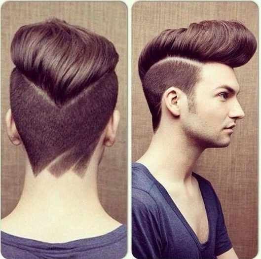 Epic Pompadour with Undercut Hairstyle Picture - Best Hairstyles for Men