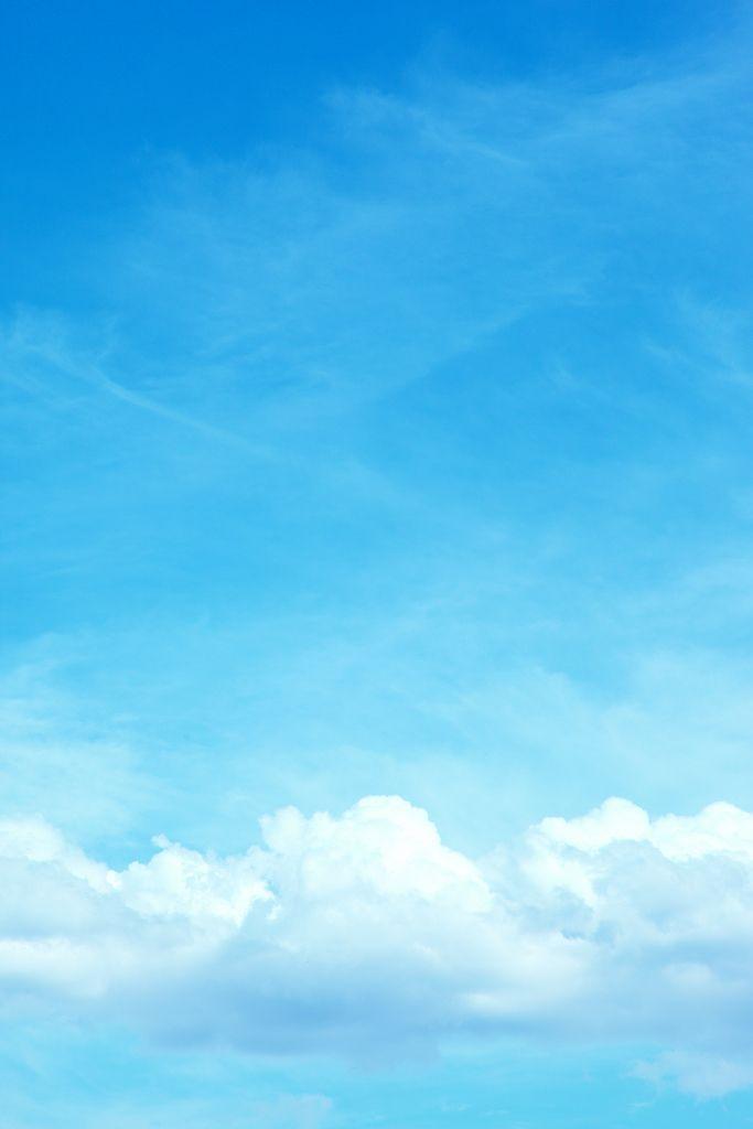 sky, clouds, blue,
