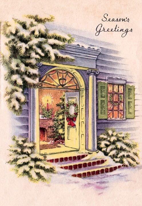 654 best Christmas Past Windows Doors images on Pinterest